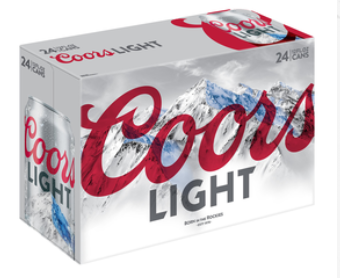 Coors Light Case 24pk