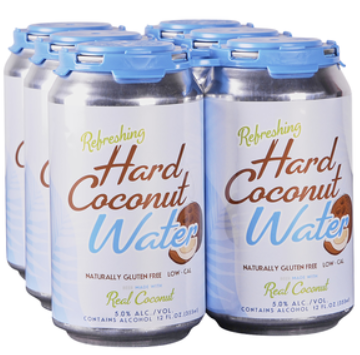 Hard Coconut Water 6 pk