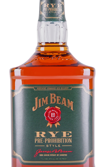 Jim Beam Rye Pre-Prohibition Style